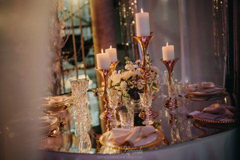 miss weddington dekoracja stołu